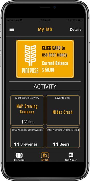 Get PintPass and find your new favorite craft brewery